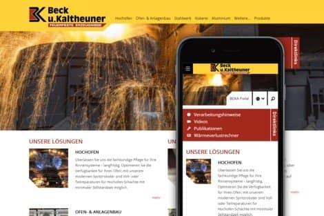 Beck u . Kaltheuner Website