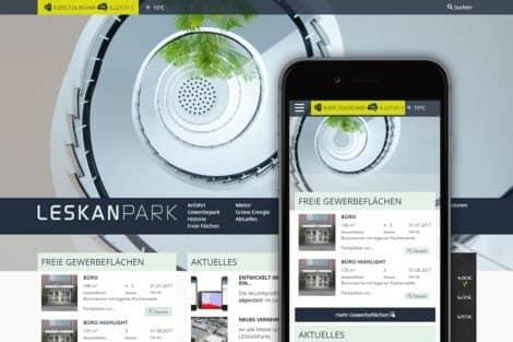 LESKANPark Website